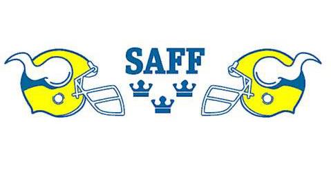 SAFF logo.